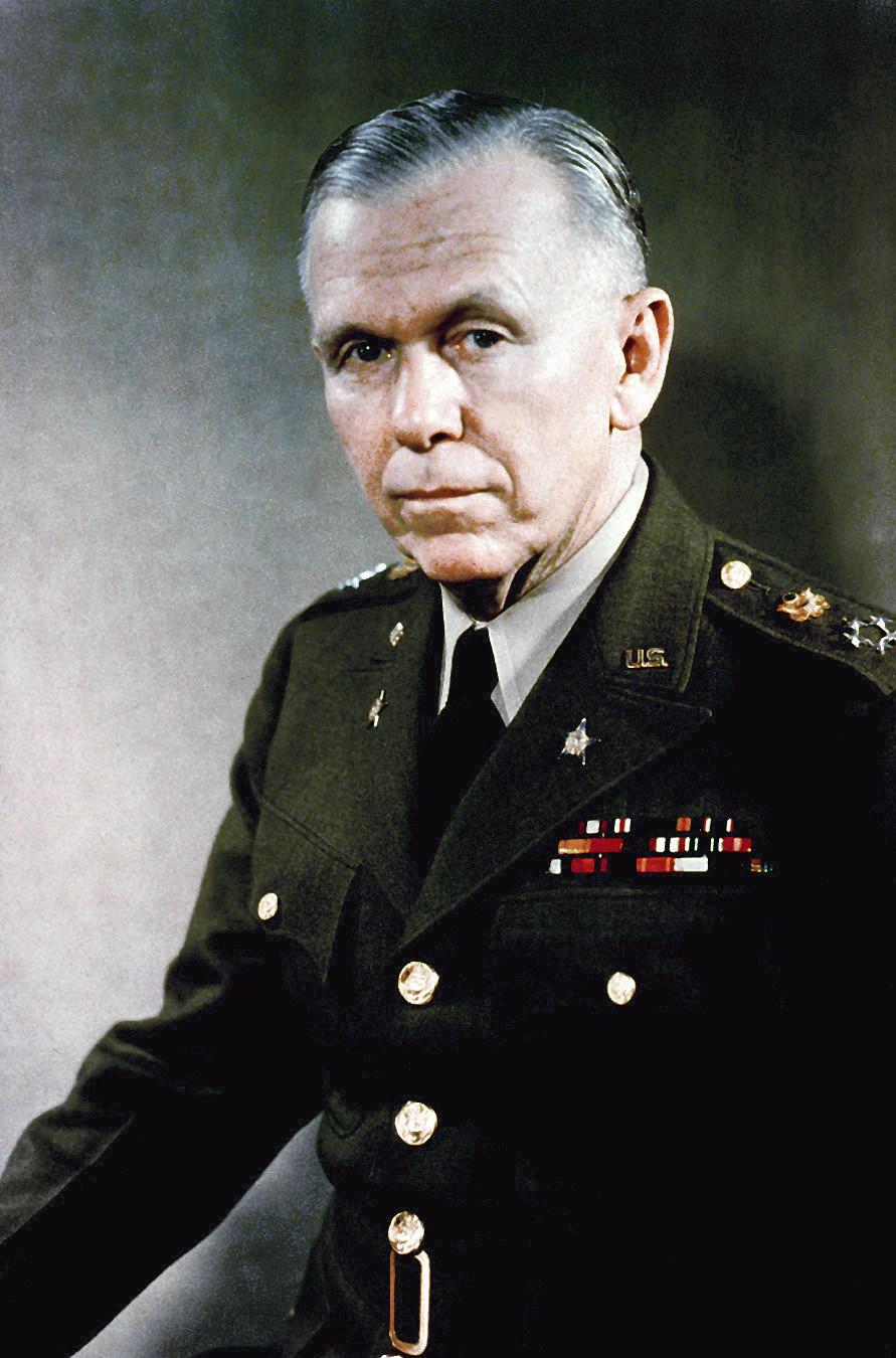 喬治·馬歇爾(George Catlett Marshall, Jr.)