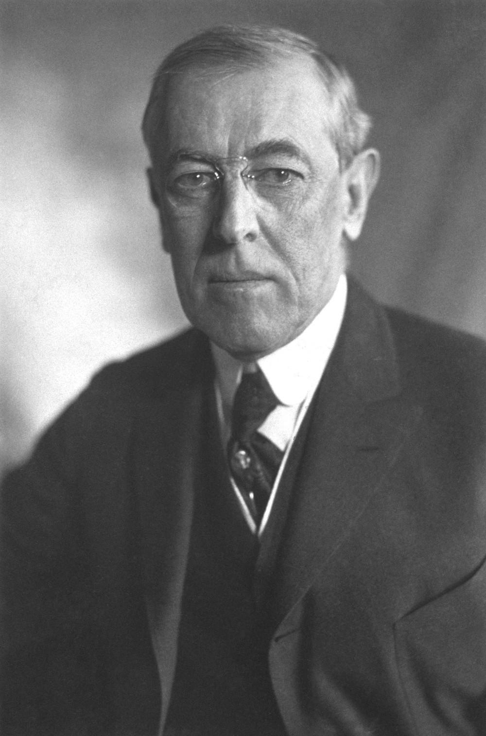 美國第28任總統 伍德羅.威爾遜 Woodrow Wilson
