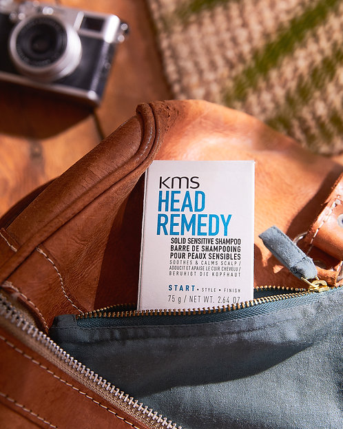 KMS HeadRemedy Solid Shampoo 75g