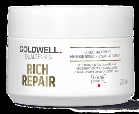 Goldwell Dualsenses Rich Repair 60Sek Pflegekur 200 ml