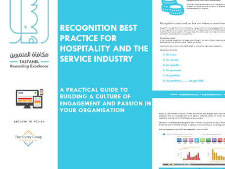 Employee Recognition best practice for hospitality and the service industry
