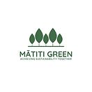 Mātiti Green Logo White BG.png