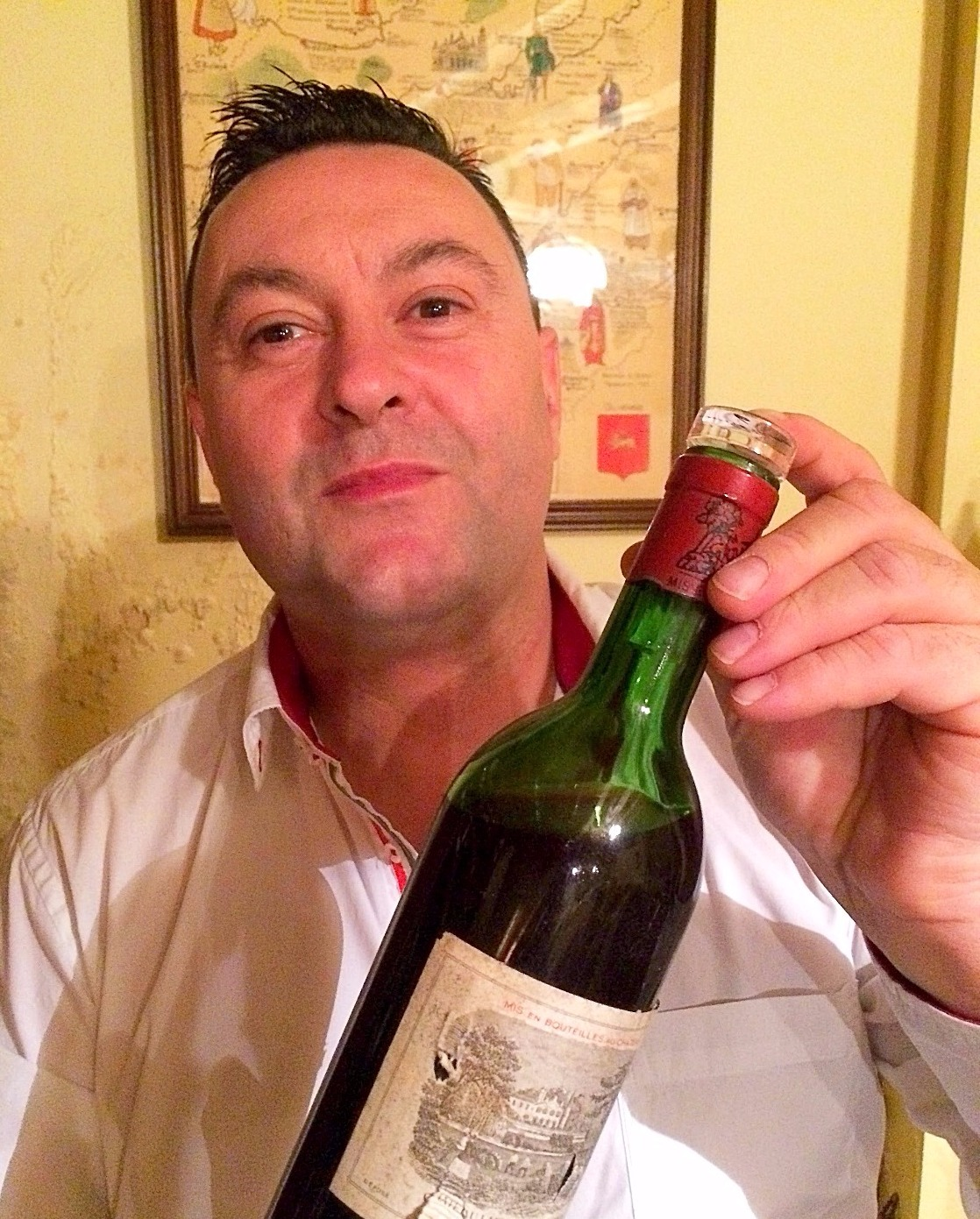 DEGUSTATION LAFITE ROTHSCHILD 1970