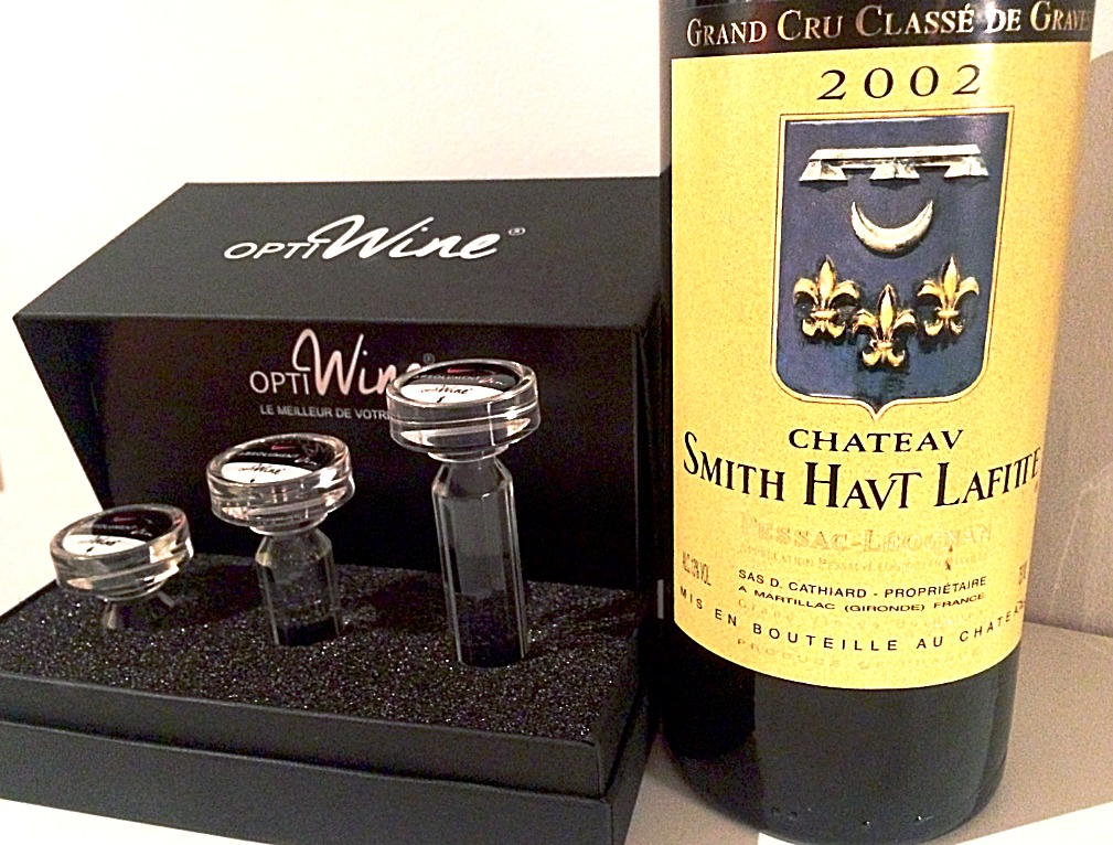 OPTIWine & CHATEAU SMITH HAUTLAFITTE
