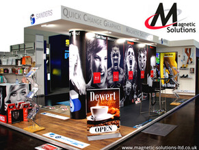Magnetic Solutions at the VM & Display Show.