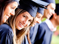 coiffe de remise de diplome
