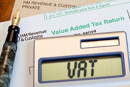 HMRC VAT form and calculator.