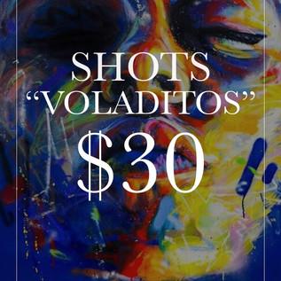Shots Voladitos