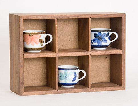 4-6 Compartment Storage Box