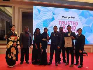 Coreo is Best Japanese Furniture Maker at Metropolitan Home Trusted Brand Awards 2018