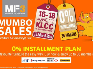 Malaysian Furniture & Furnishings Fair (MF3) 2017 Mumbo Sales
