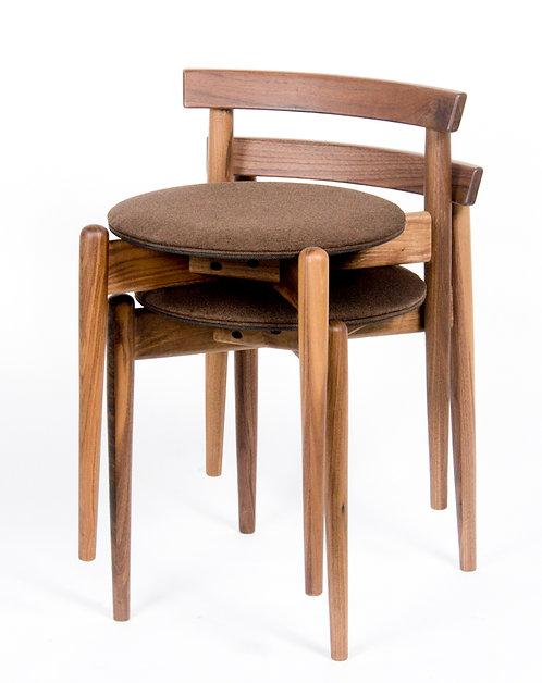 Stool With Back Rest