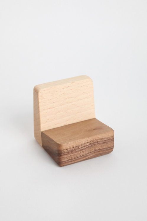 Block Shape Name Card Holder