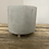 Thumbnail: Footed Cement Planter