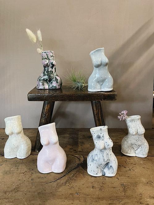 Lady Figurine Vase