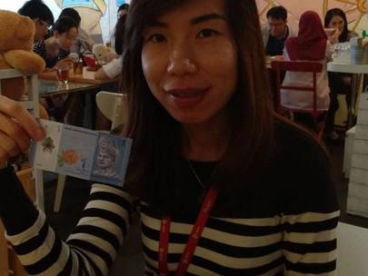 RM1 Pose for #ChildhoodCancer Awareness