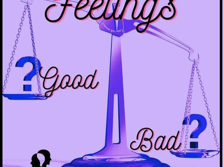 Judging feelings as bad. Dealing with difficult emotions.