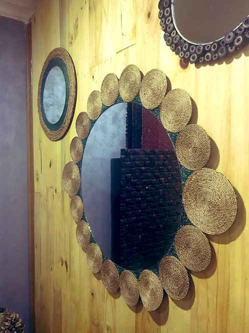 Handcrafted Wall Mirror