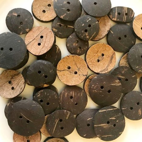 Real Coconut Shell Buttons
