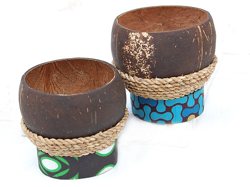 Coconut Bowl Tealight Holder