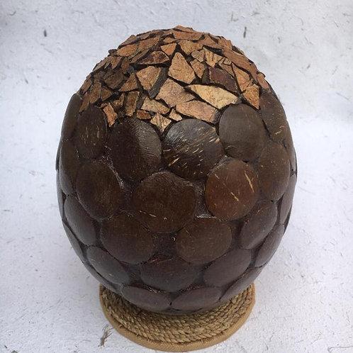 Coconut Egg Art