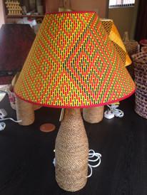 Woven Hyacinth Lamps and Lampshades.JPG