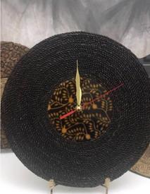 Black Rope Wall Clock.JPG