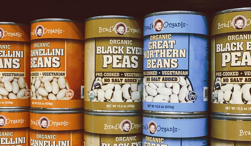 Brad's Organic Peas & Beans