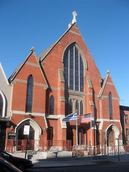 Kimisis Church Exterior