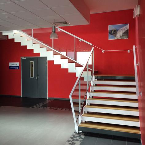 Escalier hall