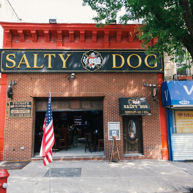 Salty Dog Bar Exterior View