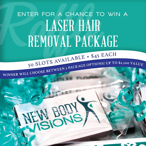 New Body Visions | Laser Hair Removal Raffle Entry