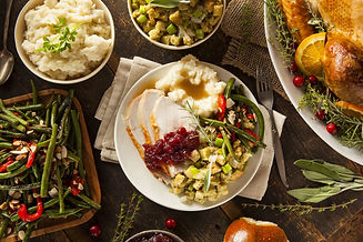 homemade-thanksgiving-turkey-on-a-plate-