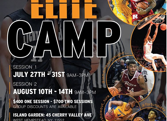Elite Camp Two Sessions
