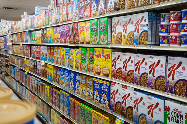 Breakfast Cereal Selections