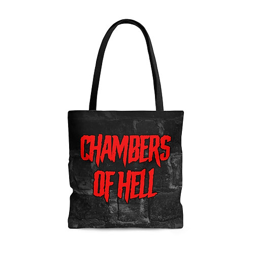 Chambers Of Hell Tote Bag