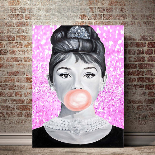 Audrey of Breakfast at Tiffanys Poster Size (24x36)