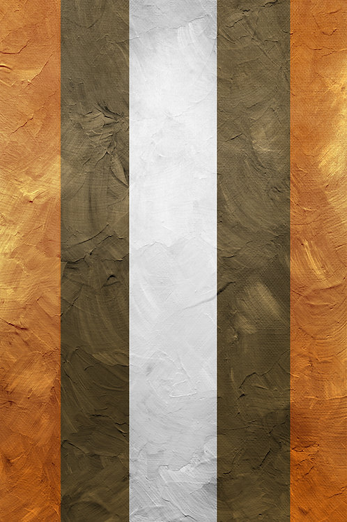 BROWN AND ORANGE PAINT