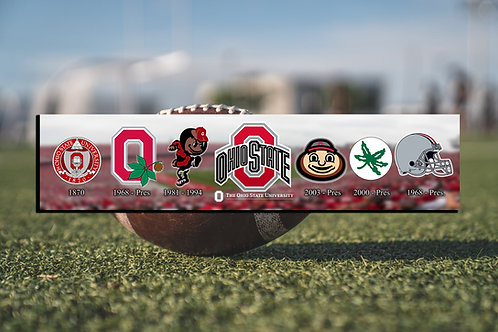 The Generations of Ohio State Logos- We Aim To Provide The Best Cleveland Artwor