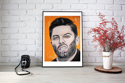 Baker Mayfield - Oil Painting Reproduction - Art Print - Cleveland Browns - GQ C