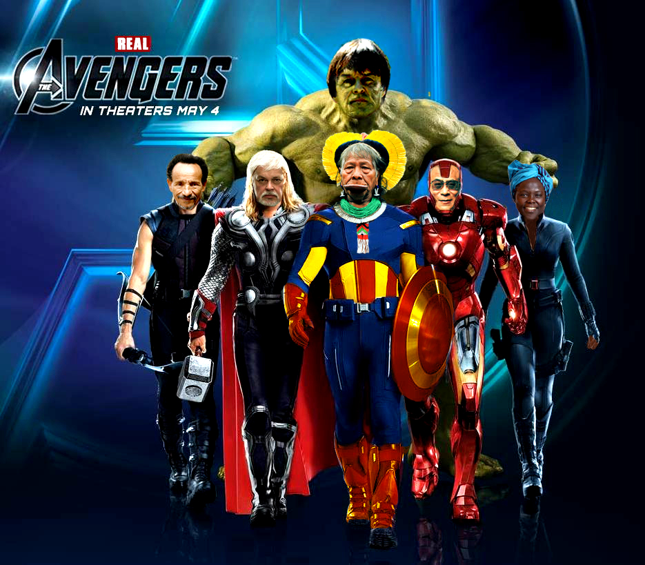 The real Avengers.16