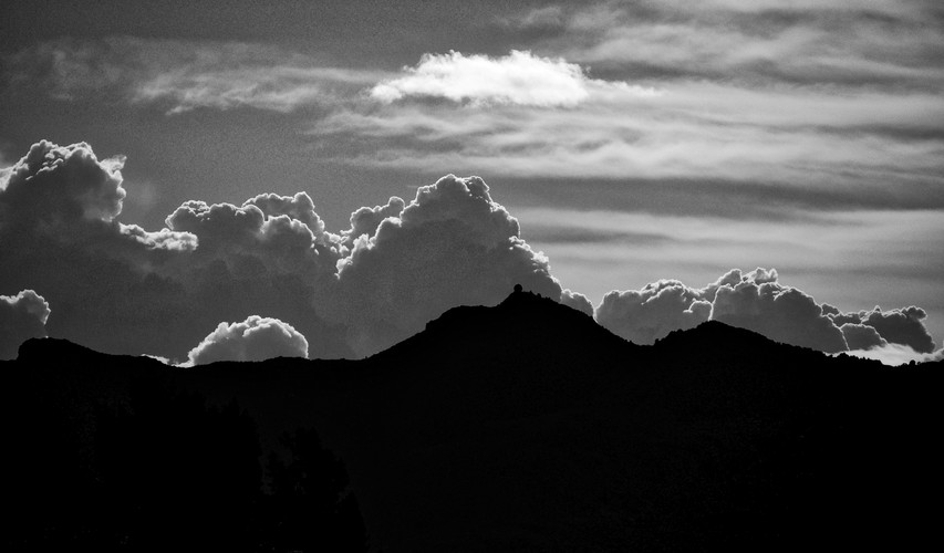 Twilight Storm Clouds