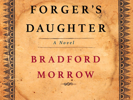 Book Buzz: The Forger's Daughter  by Bradford Morrow