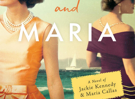 Book Buzz: Jackie and Maria: A Novel of Jackie Kennedy & Maria Callas by Gill Paul