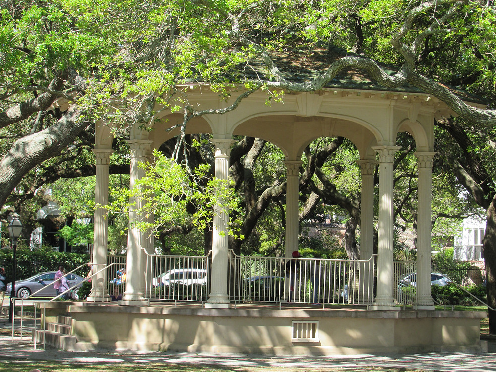 The Gazebo at White Point Gardens