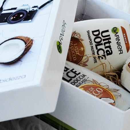I nuovi prodotti Garnier Ultra Dolce al Latte di cocco e macadamia
