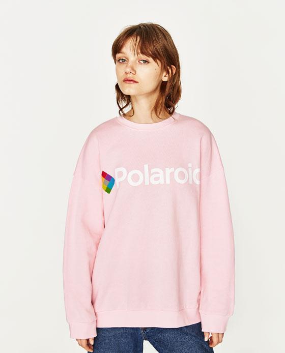Felpa polaroid
