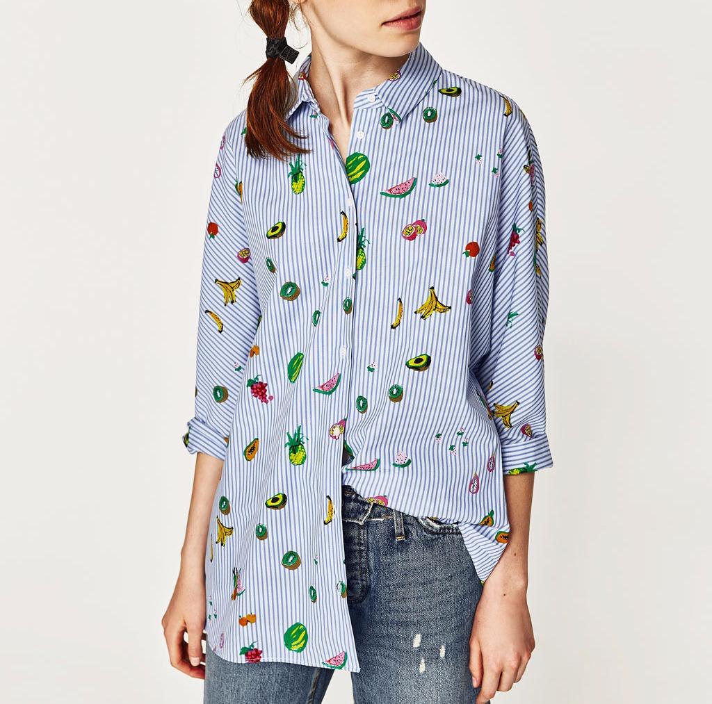 camicia con patches