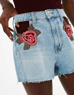shorts con toppe