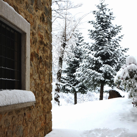 una vacanza tra la neve.